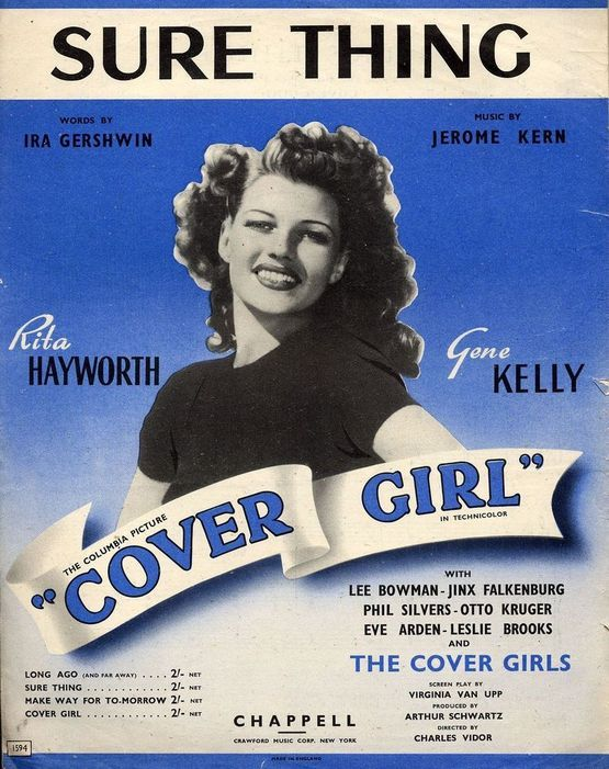 4 | Sure Thing - Song  in Key of E flat - From the Columbia Picture ''Cover Girl''