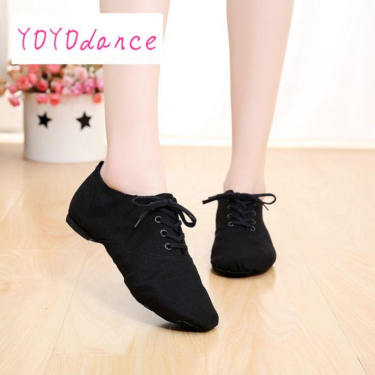 Professional Soft canvas Indoor dance jazz shoes woman ballet pointe shoes for MEN gym shoe 28-45 zapatos de jazz 4012