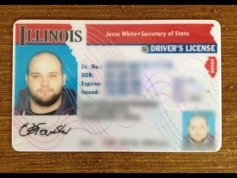 Check out how the Drivers License exam in Illinois looks like.   Internship USA