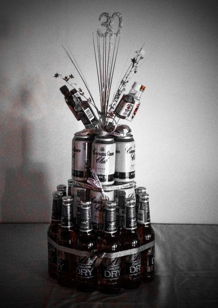 Mens birthday cake idea. 30th birthday goodbye 20's theme