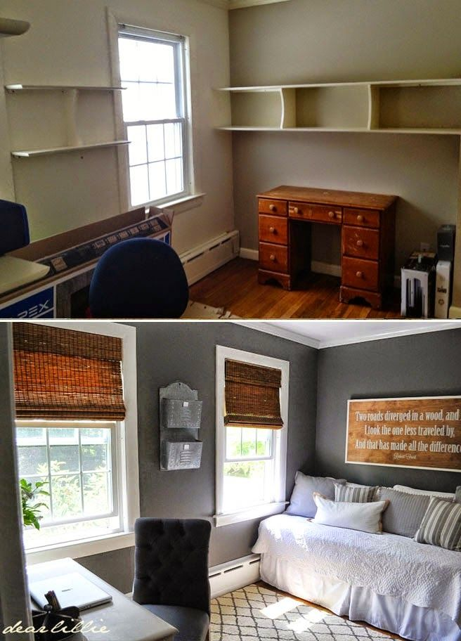 Great Colors And Shelving For A Guys Room Benjamin Moore Kendall Charcoal On The Walls Trim Is BM Simply White Target Rug DIY Wood Plank Shelves