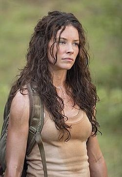 Evangeline Lilly as Kate from Lost! Love her curls.