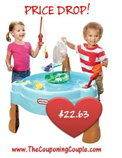 ***Little Tikes Fish 'n Splash Water Table ~ ONLY $22.63*** The PRICE JUST DROPPED to the Lowest Price we've seen! Grab it now while you can still get it at this price! Click the link below to get all of the details ► http://www.thecouponingcouple.com/little-tikes-fish-n-splash-water-table-only-28-42/  #Coupons #Couponing #CouponCommunity  Visit us at http://www.thecouponingcouple.com for more great posts!