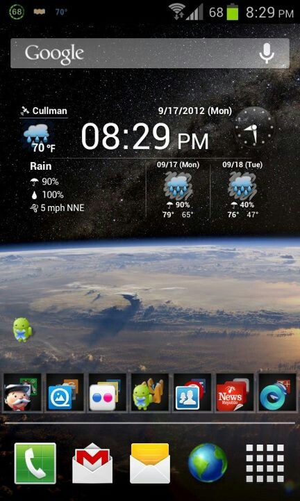 my droidDroid, Pictures