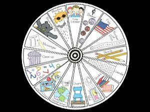 The Job Wheel. Another way to assign students a weekly classroom job