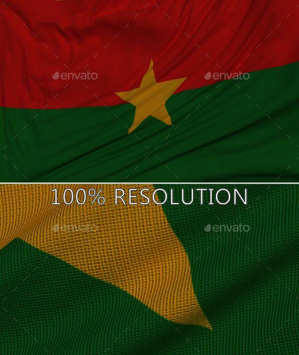 Background Flag of Burkina Faso