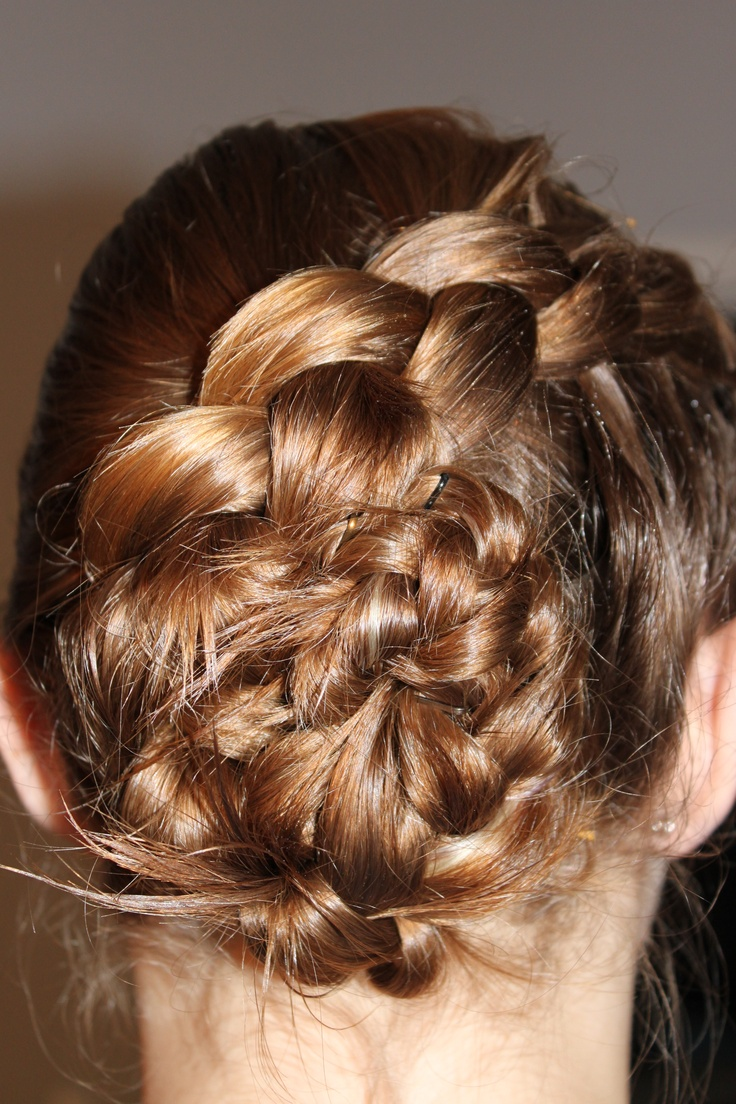 hair styles easy different bun my style 2256