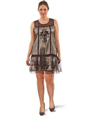 Robe tunique grande taille femme RUBY SHE: Tunic Dress, Big Size