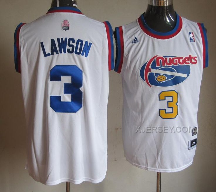 http://www.xjersey.com/nuggets-3-lawson-white-jerseys.html NUGGETS 3 LAWSON WHITE JERSEYS Only $34.00 , Free Shipping!
