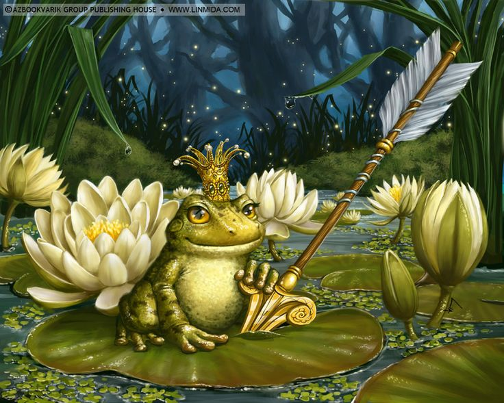 The Frog Princess by ~LiaSelina