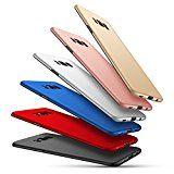 Samsung Galaxy S8 Hülle,EinsAcc PC Einfarbig Slim Schutzhülle Hülle für Samsung Galaxy S8 (rosegold)
