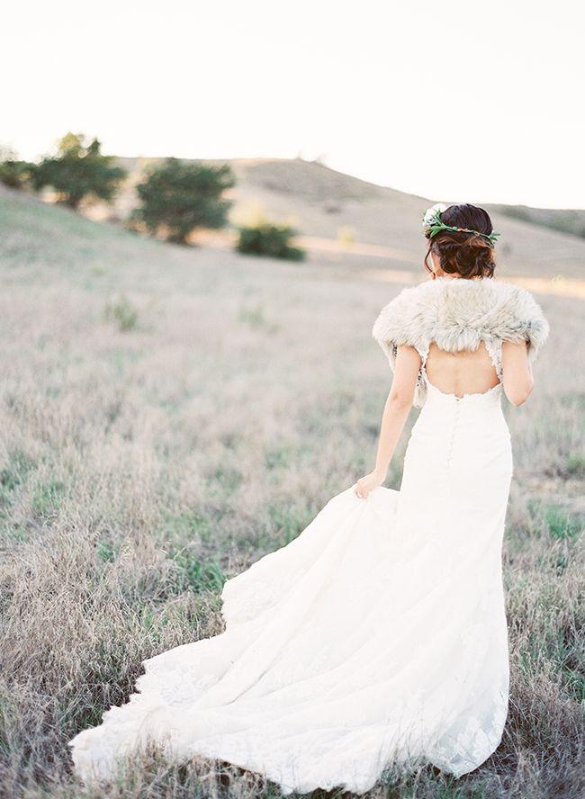 Deep Red Winter Wedding Inspiration Shoot