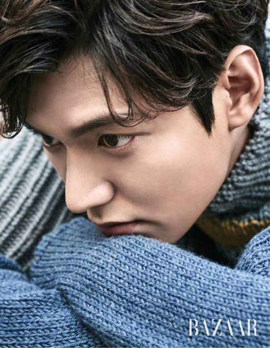 Lee Min Ho talks Jun Ji Hyun and 'The Legend of the Blue Sea' in 'Bazaar' | allkpop.com