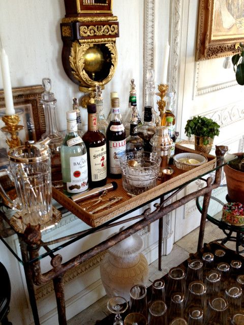 14 Best Liquor Table Images On Pinterest Beverage Cart
