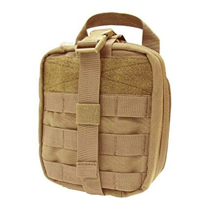Amazon.com : Condor Rip-Away EMT Pouch (Tan, 8 x 6 x 3.5-Inch) : Tactical Pouches : Sports & Outdoors