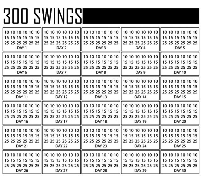300 Kettlebell Swings per day. This can be done! Break it up in your day. I accept this challenge!