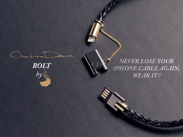 BOLT - Stylish iPhone bracelet charger by CHARLES DARIUS™ project video thumbnail