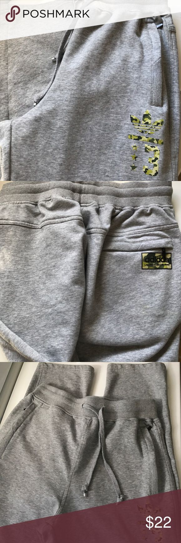 Adidas Camo Sweatpants -Sz large Excellent Condition! Worn a few times - No defects. Inseam is 32 Adidas Pants Track Pants & Joggers