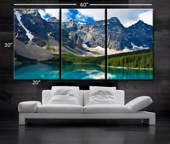 Large 30x 60 3 Panels Art Canvas Print Beautiful Etsy In 2020 Canvas Wall Art Set Cheap Canvas Wall Art Canvas Art Prints