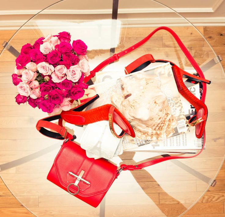 A little Cline, Givenchy, some flowers. http://www.thecoveteur.c...