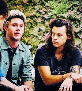 Get someone who looks at you the way Harry looks at Niall