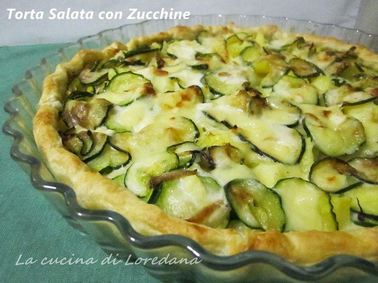 Una squisita Torta salata con zucchine e patate ideale per una cena improvvisata, un goloso antipasto o per riempire il cestino da picnic