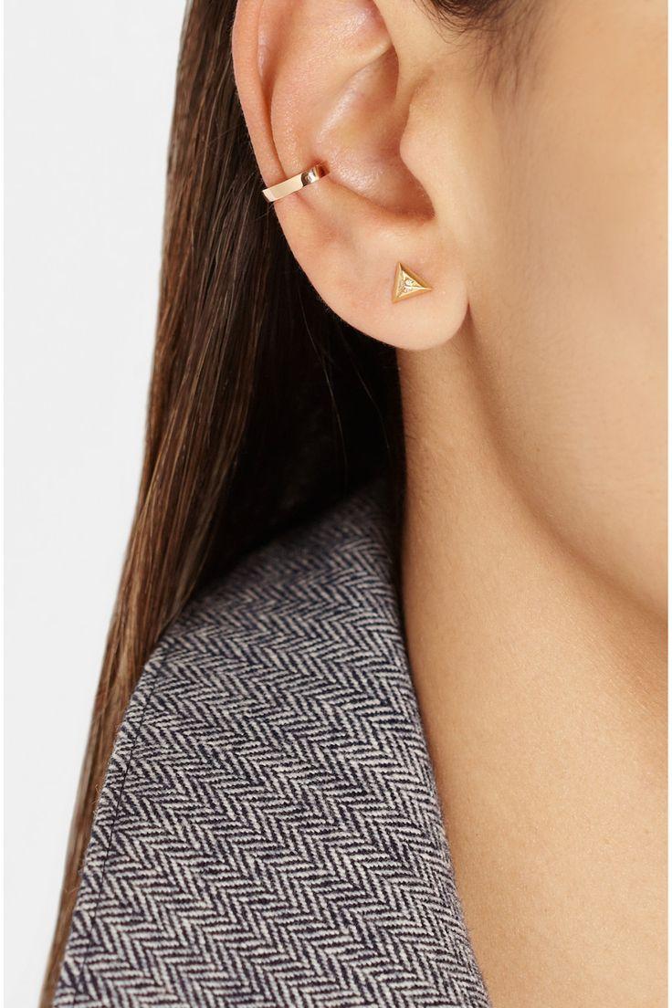 Anita Ko|18-karat rose gold ear cuff|NET-A-PORTER.COM