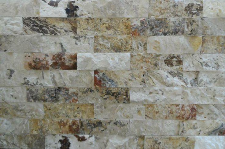 Picasso Splitface - Feature Wall Decor - Real Marble from Turkey  - www.tru-stone.net Contact - info@tru-stone.net