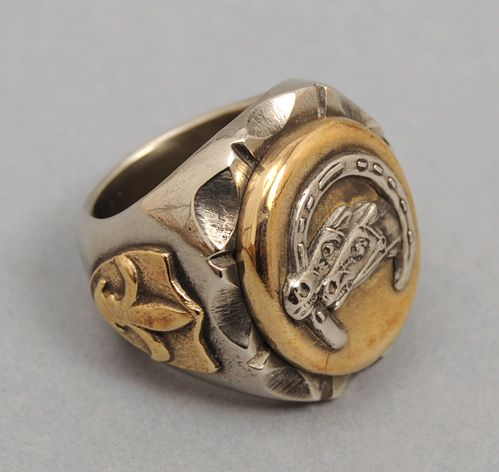 FINE LIGHT TRADING: Double Horse Ring