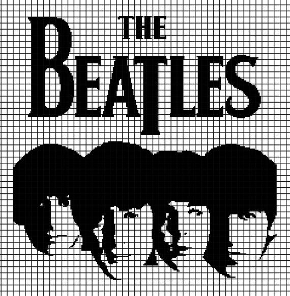 The Beatles (Chart/Graph AND Row-by-Row Written Instructions) - 01