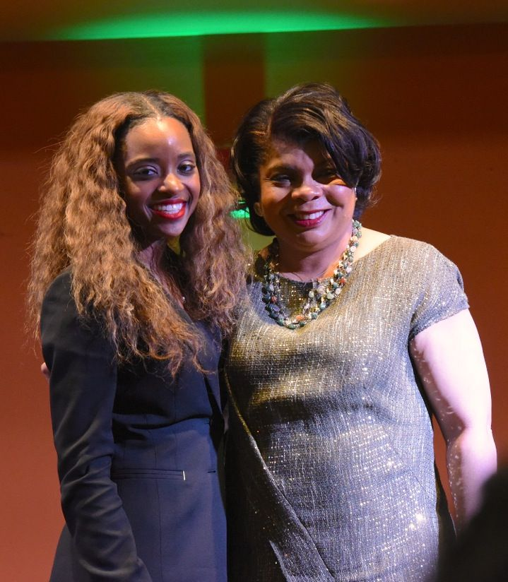 A week ago Wednesday, April Ryan, Washington bureau chief of American Urban Radio Networks and CNN political analyst, held a conversation on politics, race relations and motherhood with The Metro-Manhattan Chapter of The Links and others at Mist Harlem.