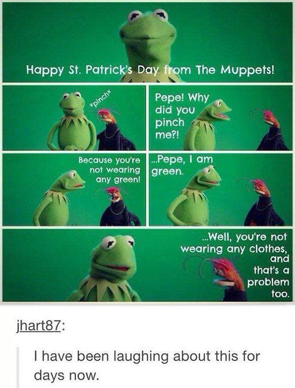 Happy Saint Patrick's day to anyone celebrating