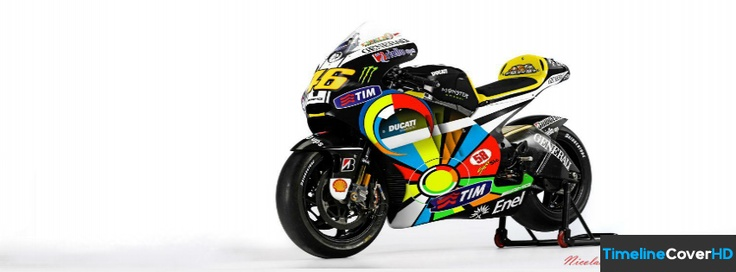Valentino Rossi Bike Timeline Cover 850x315 Facebook Covers - Timeline Cover HD