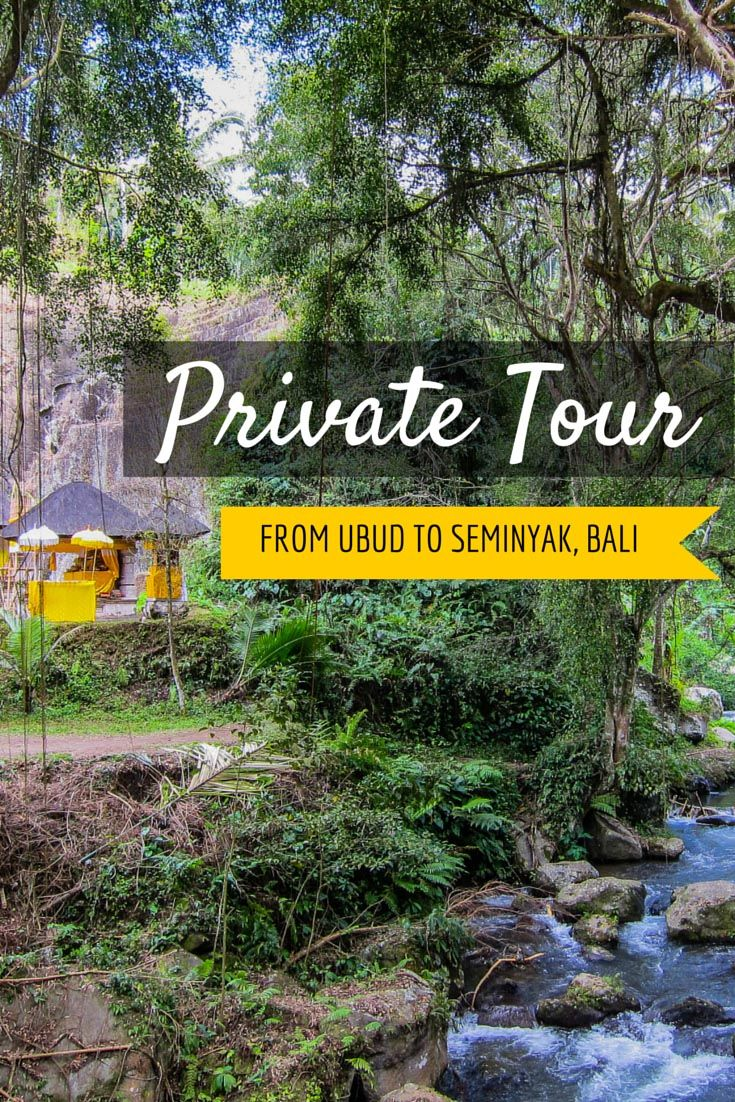 Private Tour from Ubud to Seminyak Bali | The Blonde Abroad