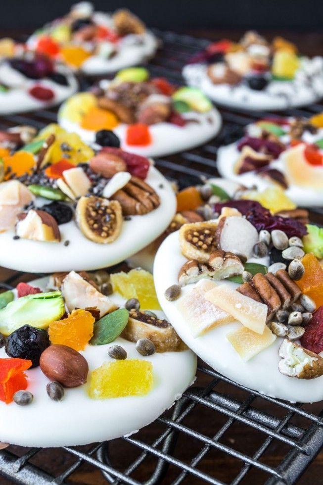 White Chocolate Energy Bites sind die gesunde Art, Dessert zuzubereiten!