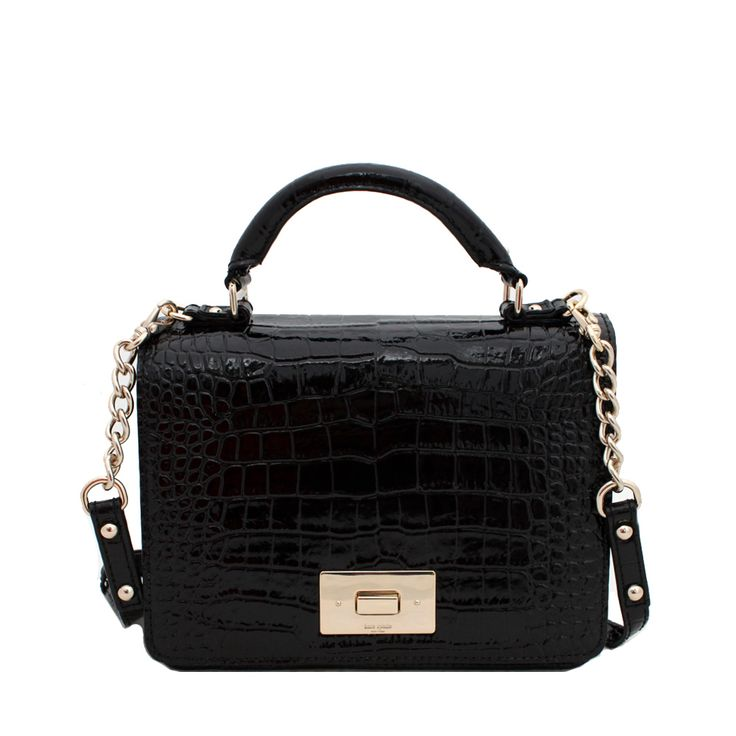 """""""I love this little black bag from Kate Spade because it can be worn cross-body during a day of exploring London but can also be paired with some gold jewellery and heels for an evening"""" - Carrie-Beth, LOVESPACE's Ops and Finance Teams"""
