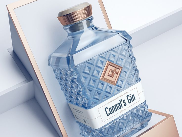 Connal's Gin / Packaging & Branding by Mike | Creative Mints - Dribbble