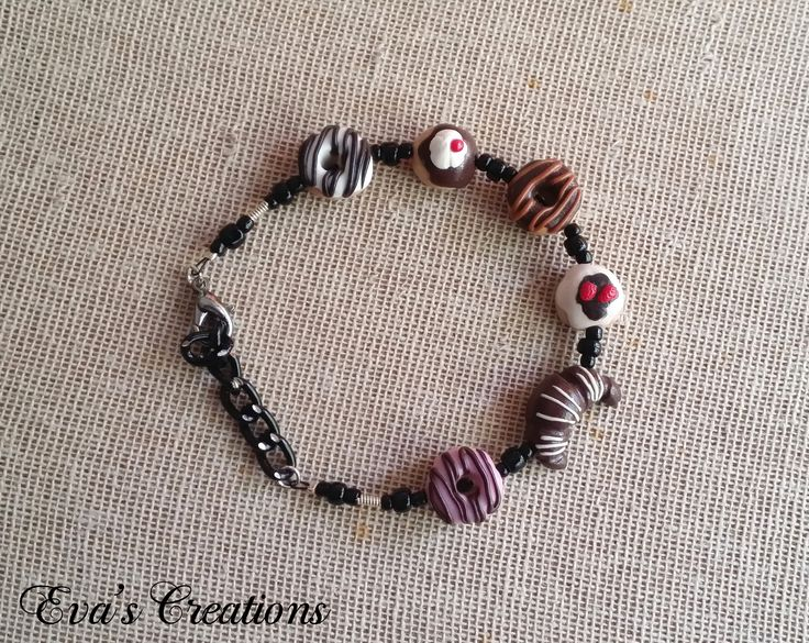 bracelet with variety of donuts