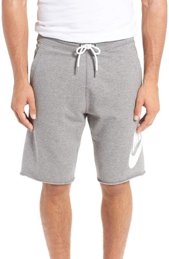 Nike & # 39; NSW & # 39; Französische Frotteeshorts mit Logo   – SHORTS MAN