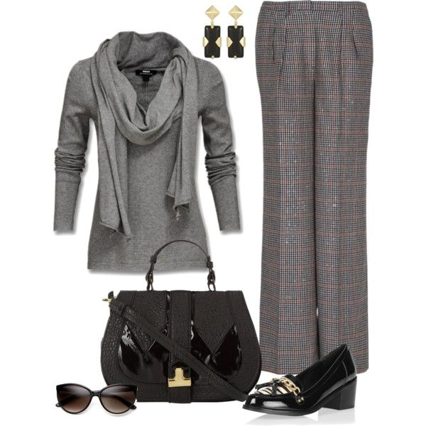 """""""Chilly Monday!"""" by fiftynotfrumpy on Polyvore  Love these total looks.  Read more over 50 ideas on ourlaughlines.blog.com"""