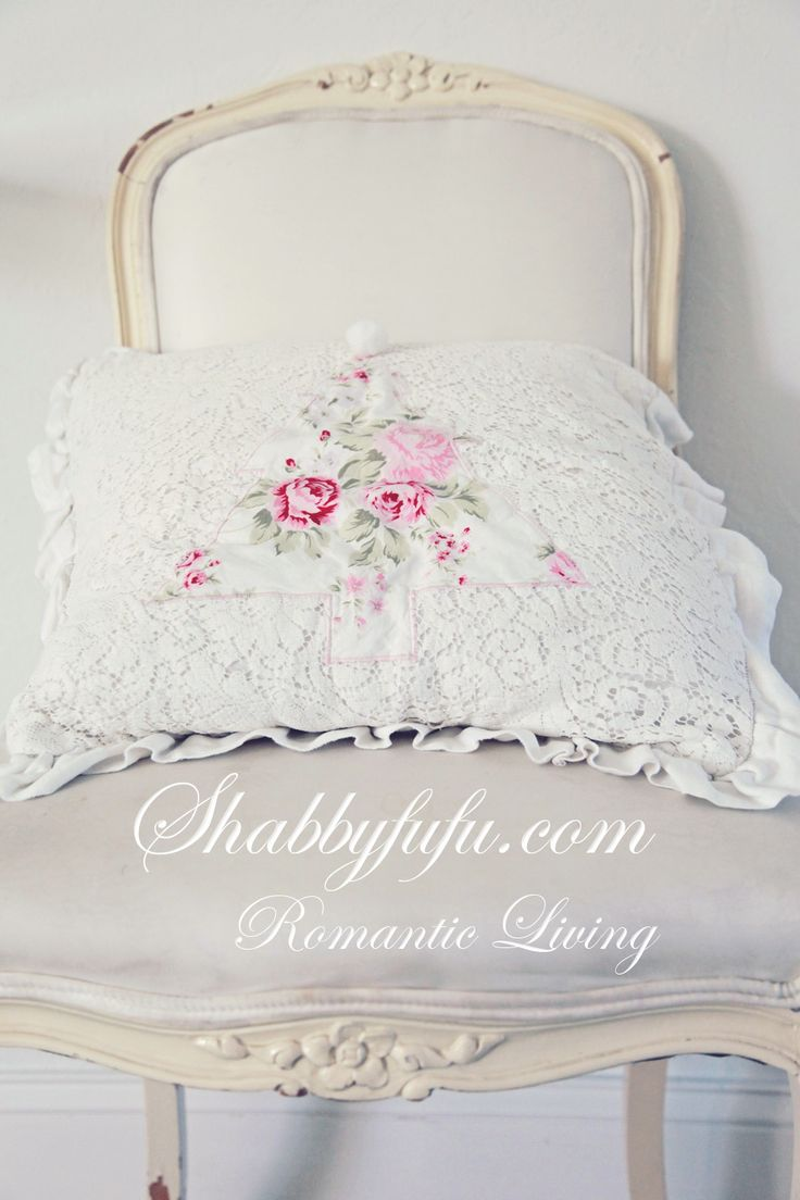 Shabby Chic Pillow Ideas : 348 best images about A SHABBY PINK ROSIE COTTAGE on Pinterest Romantic, Cottages and Cabbage ...