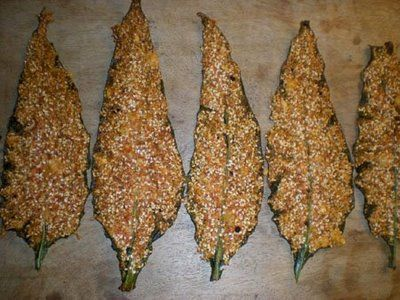 cuisine sauvage: tuiles de consoude