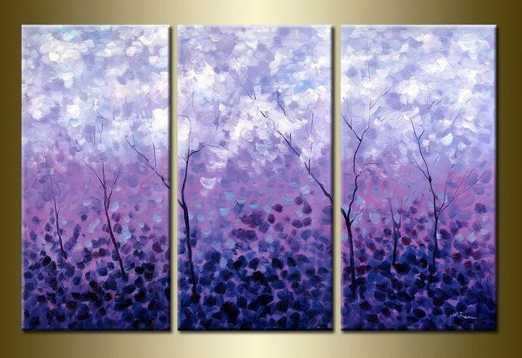 purple painting