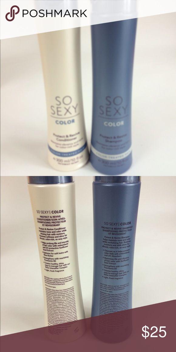 So Sexy (color) shampoo & conditioner So Sexy (color Protect & Revive ) shampoo & conditioner So Sexy Other