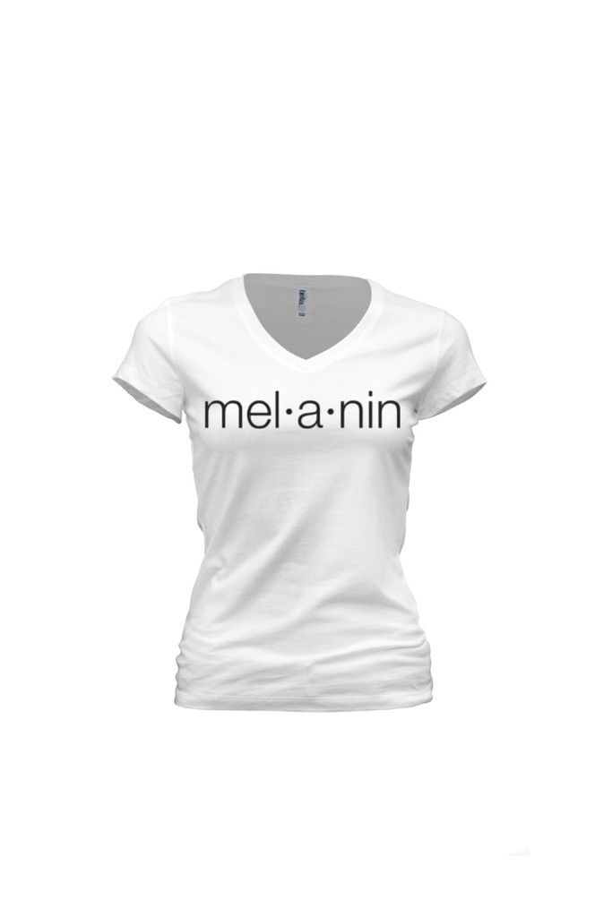 MELANIN DEFINITION WOMENS FITTED SHIRT – HAUTE GREEKS COUTURE LLC