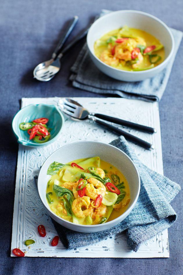 5.2 diet recipe: Vietnamese prawn curry!