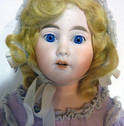 Antique German Porcelain Doll