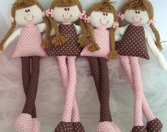 Boneca Pernudinha 35 Cm