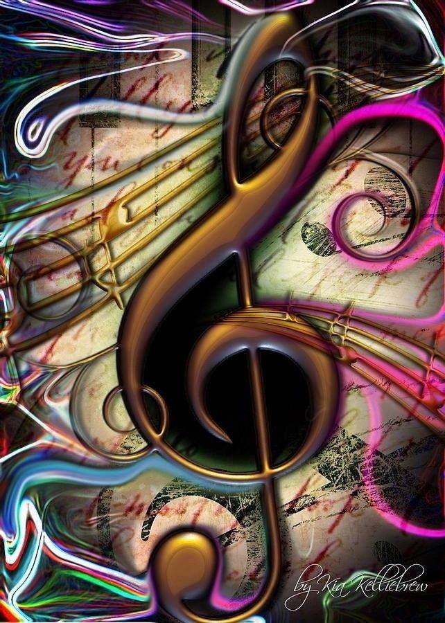 Арты картинки музыка