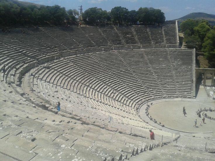 Επίδαυρος (Epidaurus) Theater in Epidavros, Greece